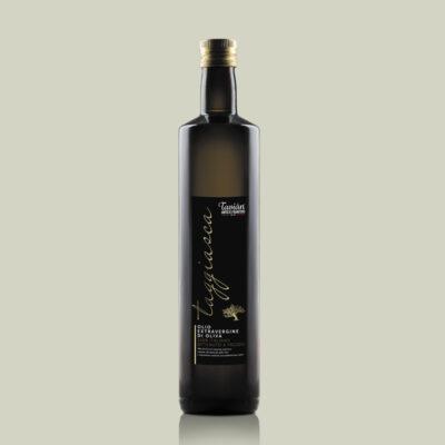 Bottiglia di OLIO EVO qualità Taggiasca