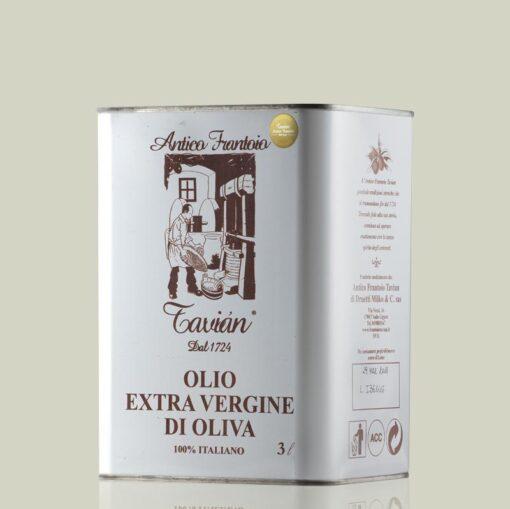 Olio Extra Vergine di Oliva Ligure Frantoio - Latta 3litri