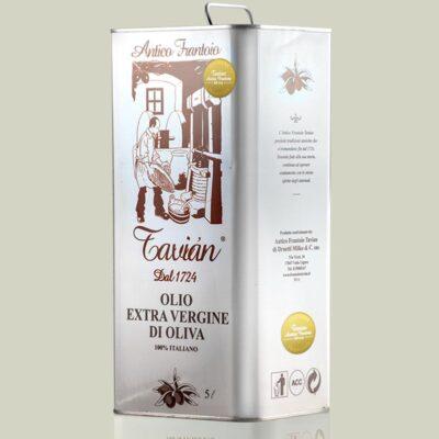 Olio Extra Vergine di Oliva Ligure Frantoio - Latta 5litri