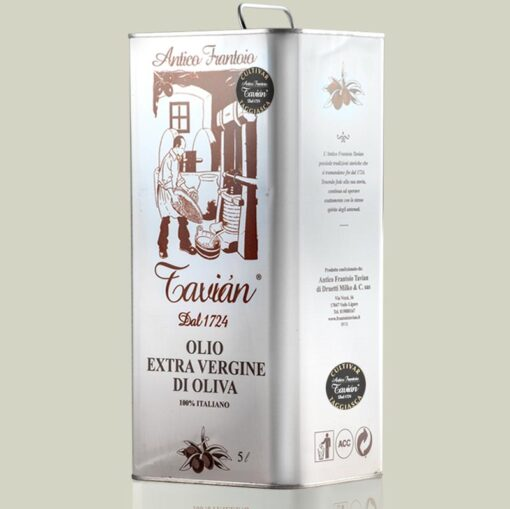 Olio Extra Vergine di Oliva Ligure - Latta 5litri