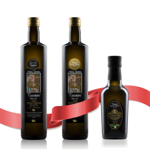 Kit degustazione Olio Extravergine di olive taggiasche